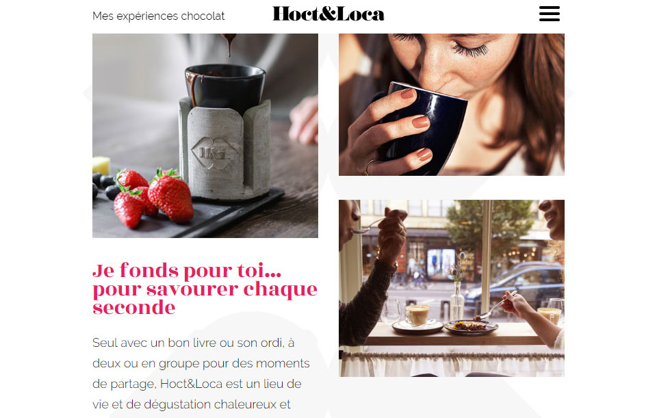 hoct et loca - Bar à chocolat