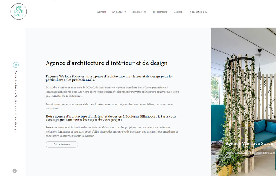 We Love Space agence d'architecture d'intérieur